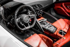 Intérieur Audi d'occasion rouge
