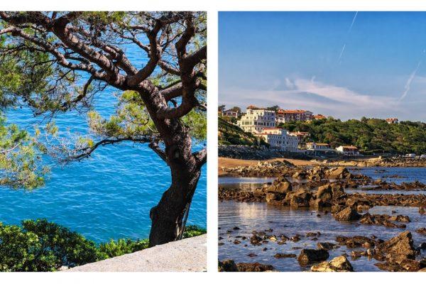 Comparatif des plages de Côte d'Azur et de Bretagne